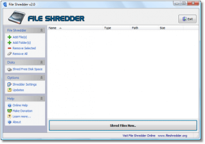 fileshred